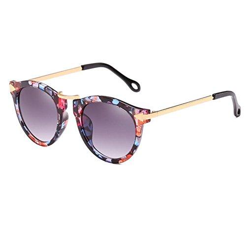 para Sol Gafas Viajar gafafs Gafas de Estilo de Aire LanLan Novedad de Gafas Sol de Libre Regalo de de Moda Reflectantes Gafas de el Tipo Nuevo Gafas de cumpleaños Colores con Film Color 2018 zFw6qw4
