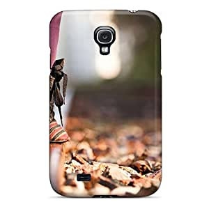 Galaxy S4 Case Cover - Slim Fit Tpu Protector Shock Absorbent Case (lonly)