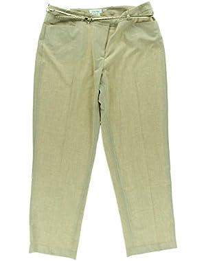 Calvin Klein Women's Dress Pants, Sand, 20W