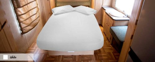 400 Thread Count 1 PC Fitted Sheet 100% Egyptian Cotton