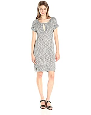 Women's Striped Tee Dress