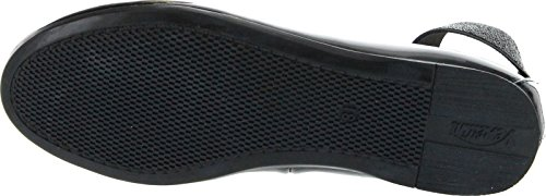 Fashion Elastic Venettini Flats Girls Kylee Strap Patent Black zw8PEq8nx