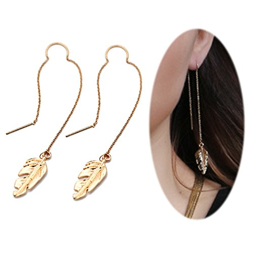 Bar Drop Dangle Earrings - 5