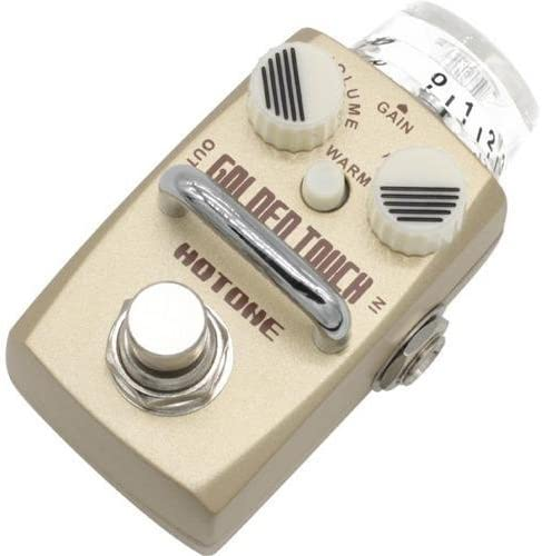 Hotone Skyline Golden Touch Overdrive Effect Pedal