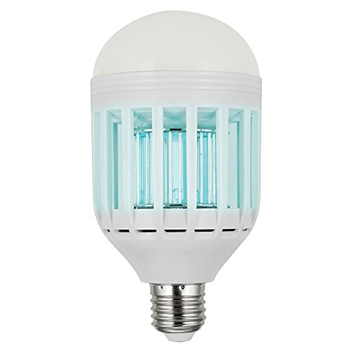 Above Edge Pestblast 2 In 1 Ultimate Mosquito Killer & Pest Control Energy Efficient Led Bulb, Lures, Zaps & Kills Insects, Free Cleaning Brush Included