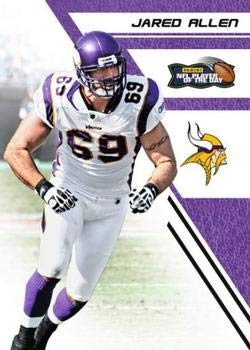 2012 Panini NFL Player of the Day #8 Jared Allen Vikings Football Card NM-MT