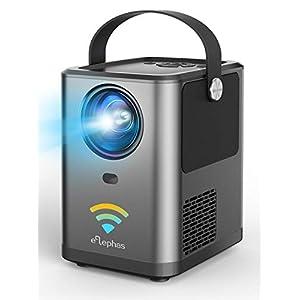 ELEPHAS WiFi プロジェクター 4800lm 1920×1080最大解像度 スマホと直接接続