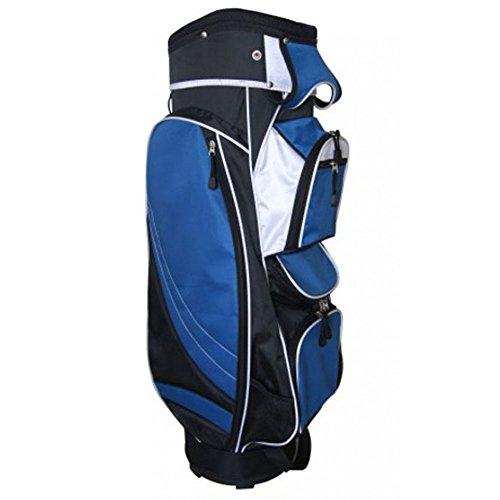 Precise Golf MX14 Cart Bag 2017 Black/Blue by PreciseGolf Co. (Image #1)