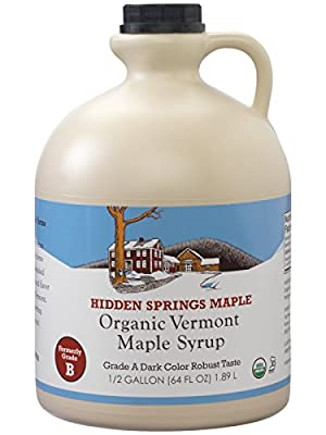 Hidden Springs Maple Vermont Maple Syrup