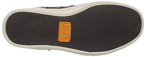 British Knights Wood - zapatillas deportivas altas de material sintético hombre gris - Grau (Dk. Grey/Cognac 04)