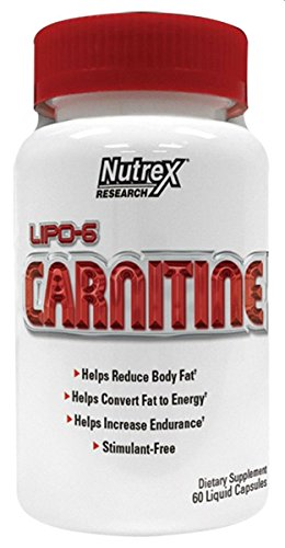 Nutrex Lipo 6 Carnitine, 60 Count