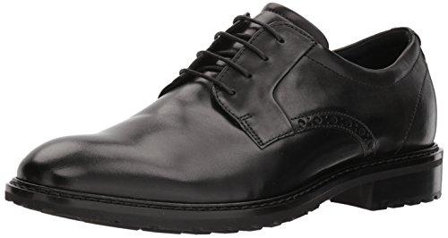 Oxford Tie Shoe - ECCO Men's Vitrus I Tie Oxford, Black Plain Toe, 45 M EU (11-11.5 US)