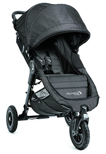 Baby Jogger City Mini GT Stroller - Single, Charcoal Denim