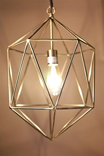 Saturn Weihnachtsbeleuchtung.P W Design Saturn Geometric 1 Light Pendant Light With 14 Inches Diameter And Brass Shade For Bedroom Living Room Kitchen Dinning Room Bar