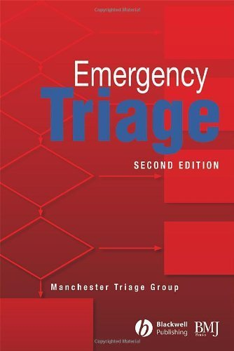 Emergency Triage 2nd Edition by Machester Triage Group (2001) Paperback ebook