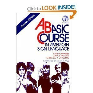 BASIC COURSE IN AMERICAN SIGN LANGUAGE BUNDLE PACKAGE
