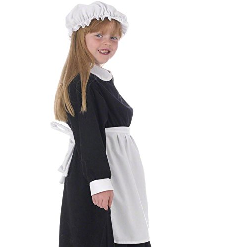 [White Apron Costume for Kids One Size (Includes Apron Only)] (Colonial Dress For Girls Costumes)