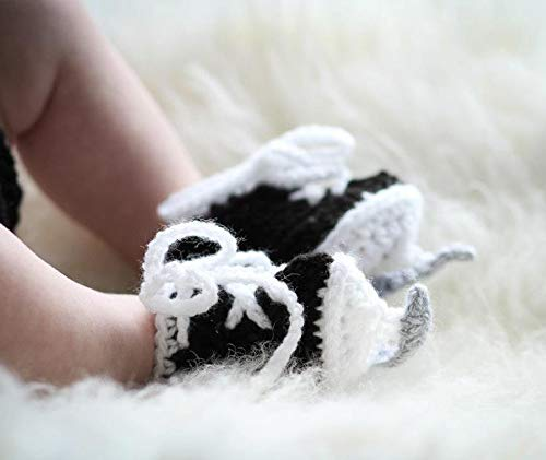Baby Boy Crocheted Hockey Skates