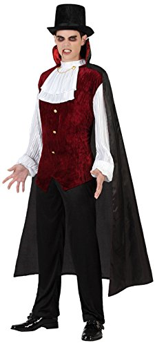 Atosa-28590 Disfraz Vampiro Para Hombre Adulto, Color morado, M-L ...