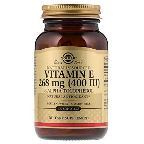 400 Softgels 100 Mg - Title - Solgar - Vitamin E 400 IU Alpha, 100 Softgels (Packaging May Vary)