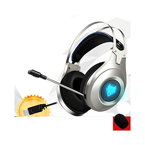 Best Casque Stereo Gaming Headphones Deep Bass Game Earphone Headset with Mic LED Light for PC Computer Gamer