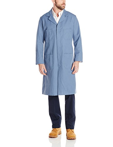 - Red Kap Men's Shop Coat, Postman Blue, 44
