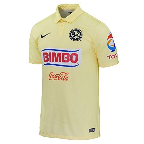 1bf5523b1 Nike Club América Estadio con Camiseta de Manga Corta  Gasa del limón de  Pulso