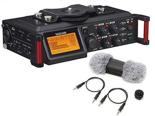 【純正アクセサリーパック付き】TASCAM カメラ用PCMレコーダー DR-70D + AK-DR70C セット B011BNK7LG