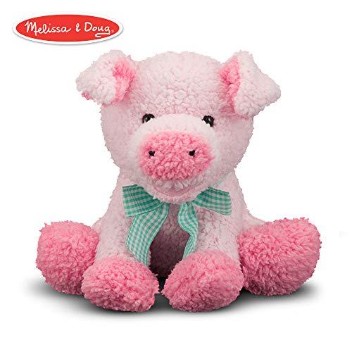 Melissa & Doug Meadow Medley Piggy - Stuffed Animal With Sound Effect