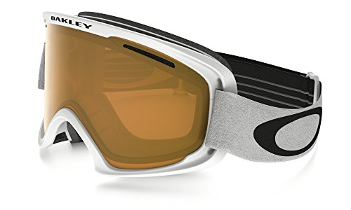 Oakley O Frame XL 2.0 Snow Goggles Matte White with Persimmon - O Oakley Matter Frame