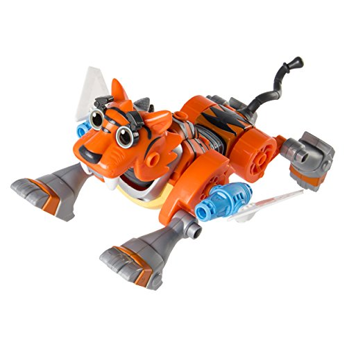 Action Building Set - Rusty Rivets Tigerbot Building Set with Lights and Sounds, for Ages 3 and Up