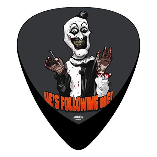 He'S Following Me! 351 Shape Medium Classic Celluloid Picks, 12-Pack, For Electric Guitar, Acoustic Guitar, Mandolin, And Bass