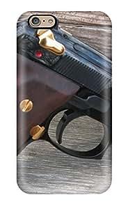 NYUVAVC12802ENtcD MaritzaKentDiaz Gun Durable Iphone 6 Tpu Flexible Soft Case