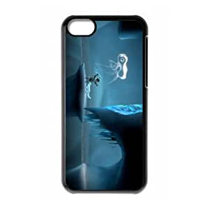 iPhone 5c Cell Phone Case Black Never Alone Kisima Ingitchuna Y4E5PO