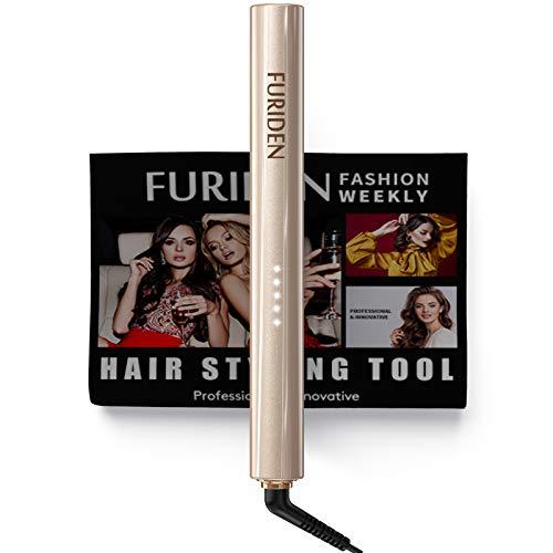 Hair Straightener, FURIDEN 2 in 1 Hair Straightener, Hair Straightener and Curler, Professional Hair Straightener Flat Iron