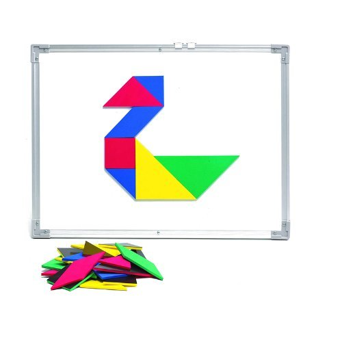 Giant Magnetic Foam Tangrams Set of 28 Pieces