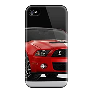 Premium Protection Ford Mustang Case Cover For Iphone 4/4s- Retail Packaging