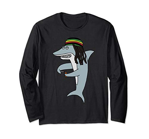 Reggae Shark T-Shirt, Reggae Long Sleeve T-Shirt