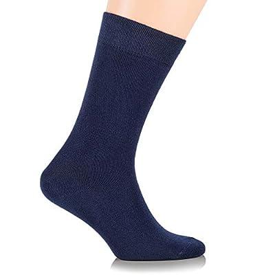 3 Pairs Women's Bamboo Dress Socks / Crew Length / Business Casual