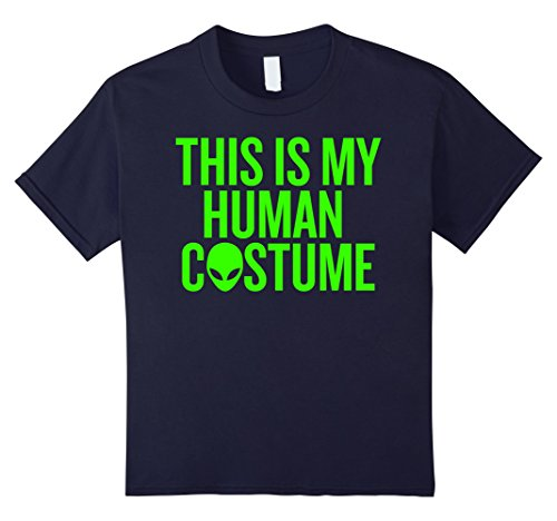 Kids This is my Human Costume T-shirt Halloween Party Ideas 12 (Funny Halloween Costume Ideas Last Minute)