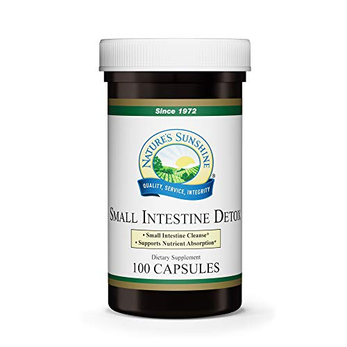 Nature's Sunshine Small Intestine Detox, 100 Capsules, Natural Formula Soothes Digestive Tissue and Helps with The Breakdown of Proteins best to buy