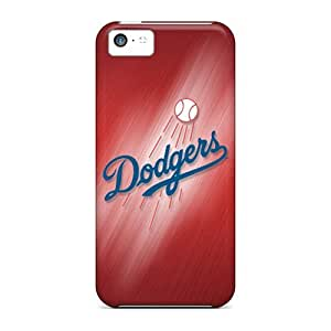 Mycase88 Shockproof Scratcheproof Los Angeles Dodgers Hard Cases Covers For Iphone 5c