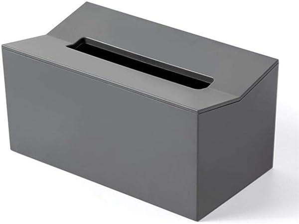 Wu Lian Caja de pañuelos invertidos Servilletero para Toallas de Papel Caja para servilletas Dispensador de pañuelos Contenedor montado en la Pared para toallitas para el hogar, Gris: Amazon.es: Hogar