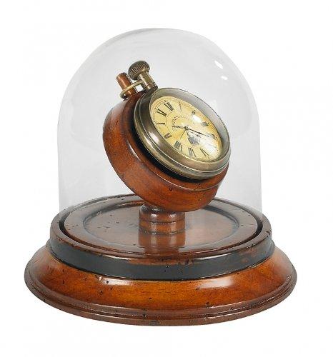 Victorian Dome Watch in Dark Honey