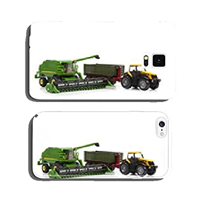 toys combine harvester and tractor with semi-trailer cell phone cover case Samsung S5