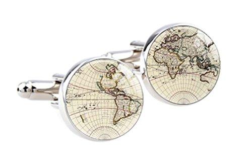 Steampunk - World Map Globe -