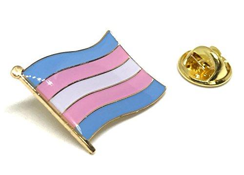 Beautiful Pin (Transgender Pride Rainbow LGBT LGBTQ Flag Lapel Pins)