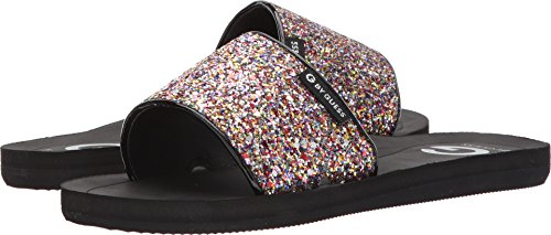 G by GUESS Women's Tomie Rainbow Glitter 7 M - Womens Guess