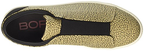 Borbonese Slip On, Slippers Donna Verde (Safari)