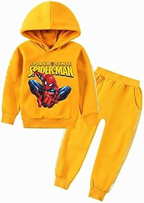 Spiderman Todder Kids Boys Hooded Sweatshirt Hoodie Jacket Coat T-Shirt Tops